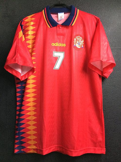【1995】 / U-20 Spain / Home / No.7 RAUL / FIFA World Youth Championship