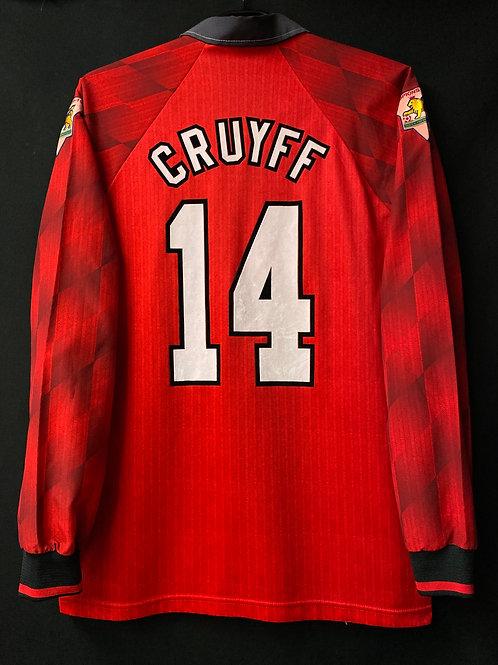 【1996/97】 / Manchester United / Home / No.14 CRUYFF