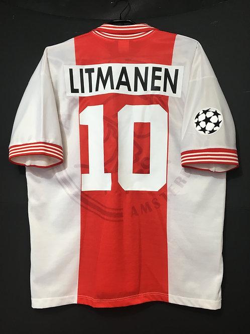 【1995/96】 / Ajax / Home / No.10 LITMANEN / UCL Final