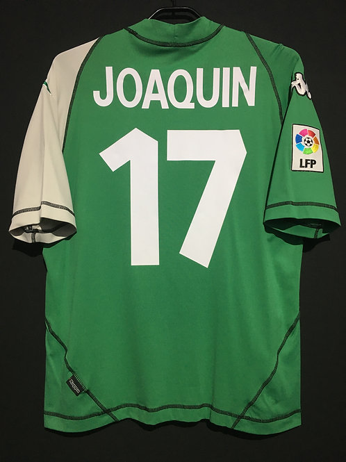 【2003/04】 / Real Bettis / Away / No.17 JOAQUIN