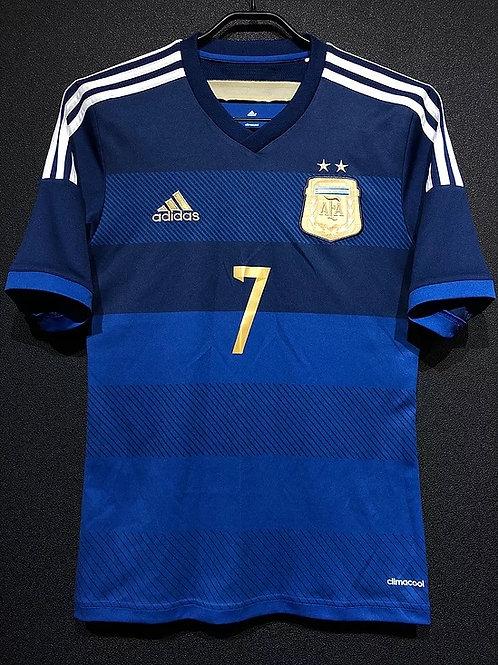 【2014】 / Argentina / Away / No.7 DI MARIA