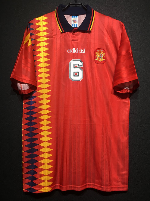 【1994/95】 / Spain / Home / No.6 R.HIERRO