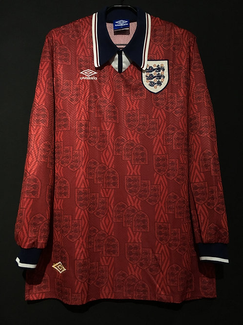 【1994/95】 / England / Away / Player Issue
