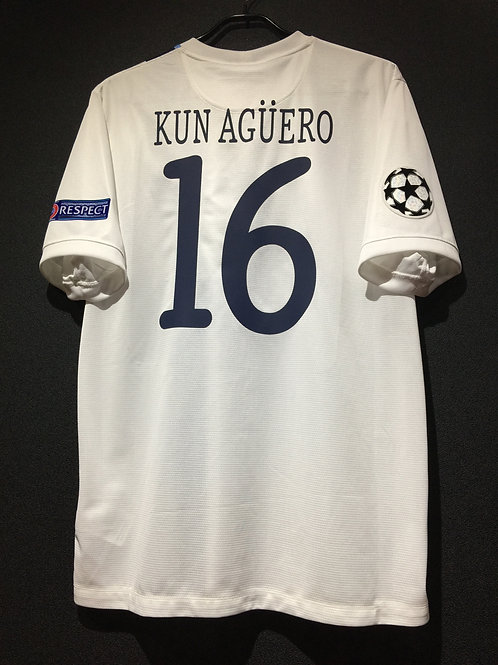 【2013/14】/ Manchester City / Cup(Away) / No.16 KUN AGUERO / UCL