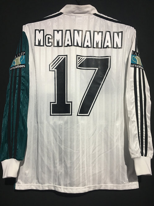【1995/96】 / Liverpool / Away / No.17 McMNAMAN / FA Cup Final