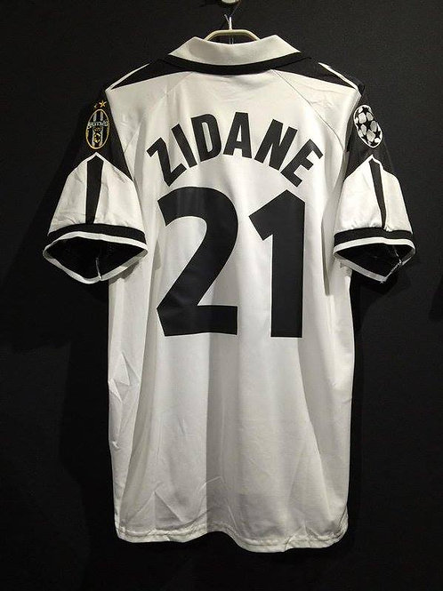 【1998/99】 / Juventus / Cup(Away) / No.21 ZIDANE / UCL