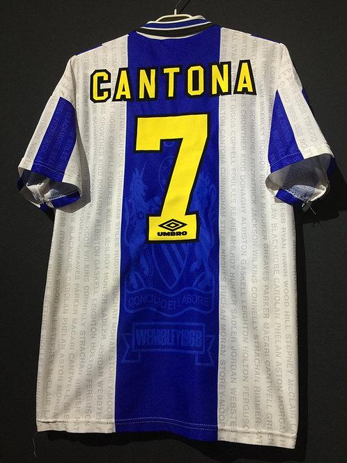 【1994/96】 / Manchester United / 3rd / No.7 CANTONA