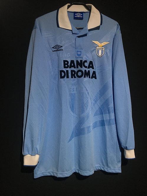 【1993/95】 / S.S. Lazio / Home / No.11 / Player Issue