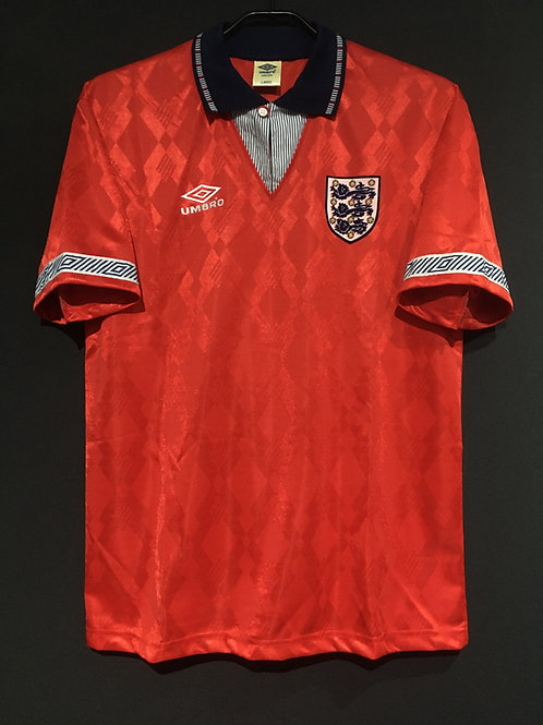 【1990/93】 / England / Away / less-expensive version
