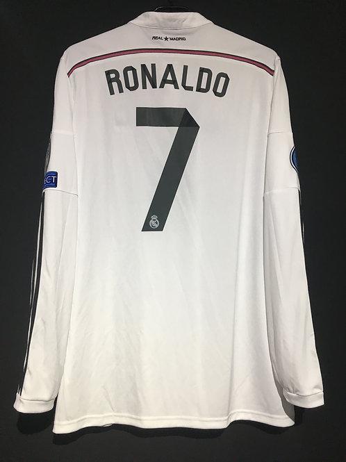 【2014/15】 / Real Madrid C.F. / Home / No.7 RONALDO / UCL
