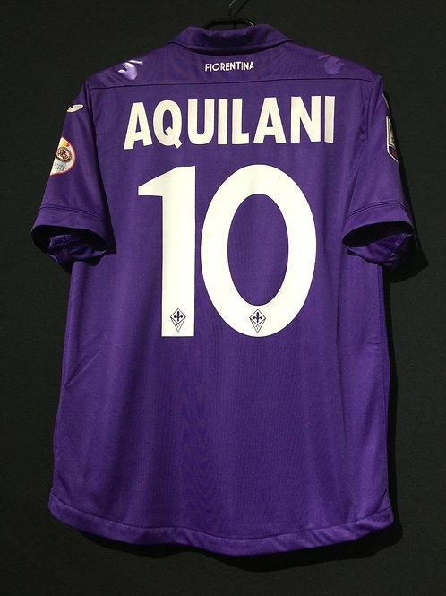 【2014】 / ACF Fiorentina / Home / No.10 AQUILANI / vs.Livorno