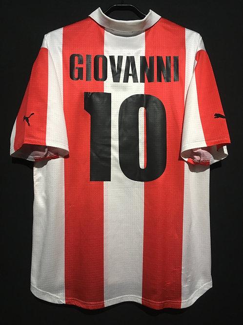 【1999/2000】 / Olympiacos F.C. / Home / No.10 GIOVANNI