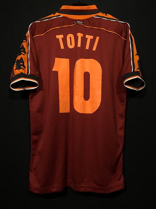 【1998/99】 / A.S. Roma / Home / No.10 TOTTI