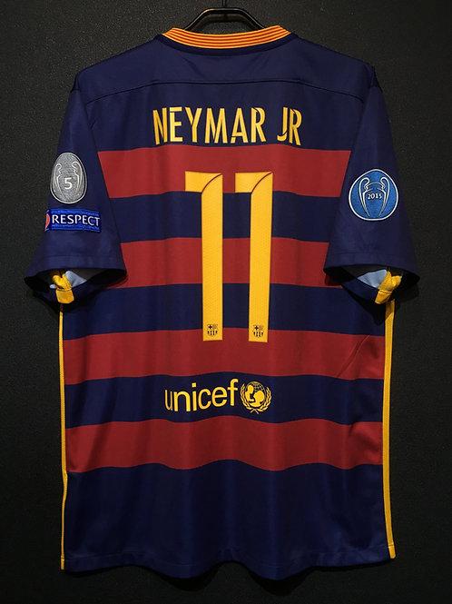 【2015/16】 / FC Barcelona / Home / No.11 NEYMAR JR / UCL