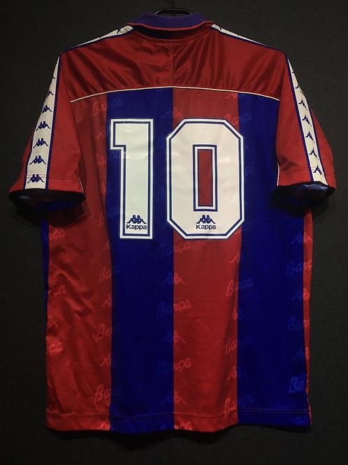 【1992/95】 / FC Barcelona / Home / No.10