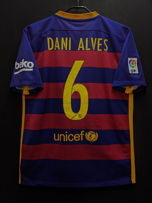 【2015/16】 / FC Barcelona / Home / No.6 DANI ALVES