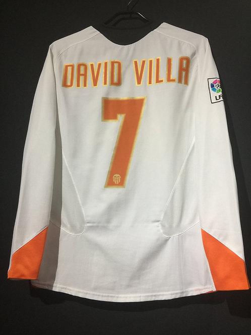 【2005/06】 / Valencia CF / Home / No.7 DAVID VILLA
