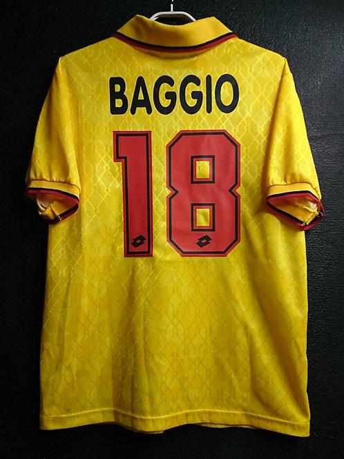 【1995/96】 / A.C. Milan / 3rd / No.18 BAGGIO
