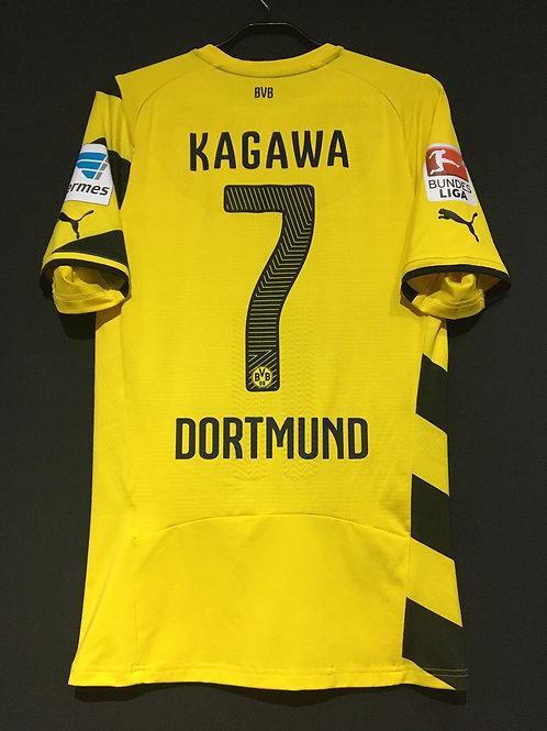 【2014/15】 / Borussia Dortmund / Home / No.7 KAGAWA / Authentic