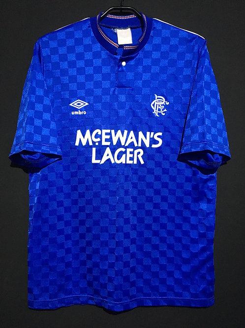 【1988/89】 / Rangers F.C. / Home