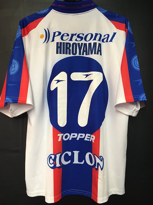 【2001/02】 / Cerro Porteño / Away / No.17 HIROYAMA