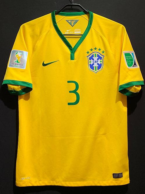 【2014】 / Brazil / Home / No.3 T. SILVA / FIFA World Cup