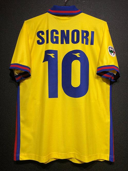 【1998/99】  / Bologna F.C. / 3rd / No.10 SIGNORI