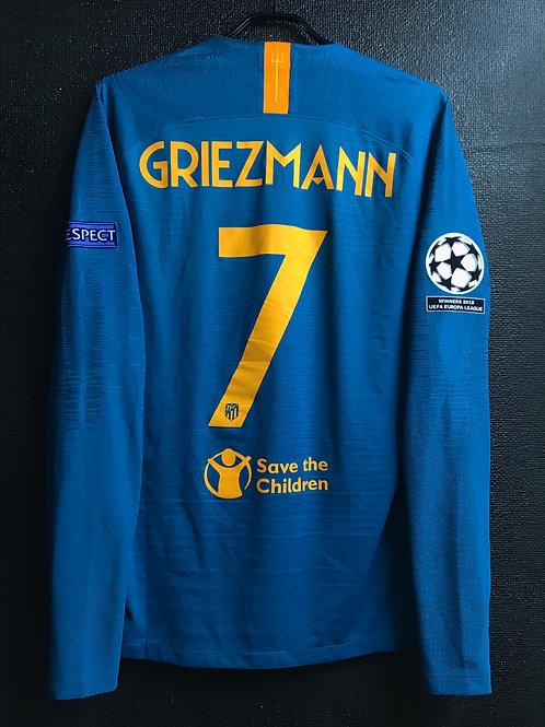 【2018/19】 / Atletico Madrid / Cup(3rd) / No.7 GRIEZMANN / UCL / Player Issue