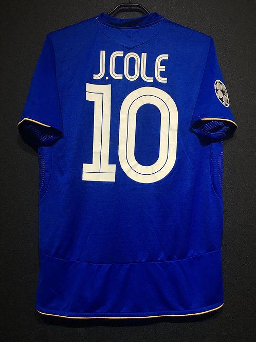 【2005/06】 / Chelsea / Home / No.10 J.COLE / UCL / 100th Anniv.