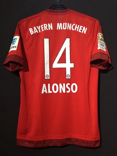 【2015/16】 / FC Bayern Munich / Home / No.14 ALONSO