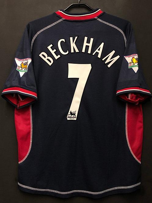 【2000/01】 / Manchester United / 3rd / No.7 BECKHAM