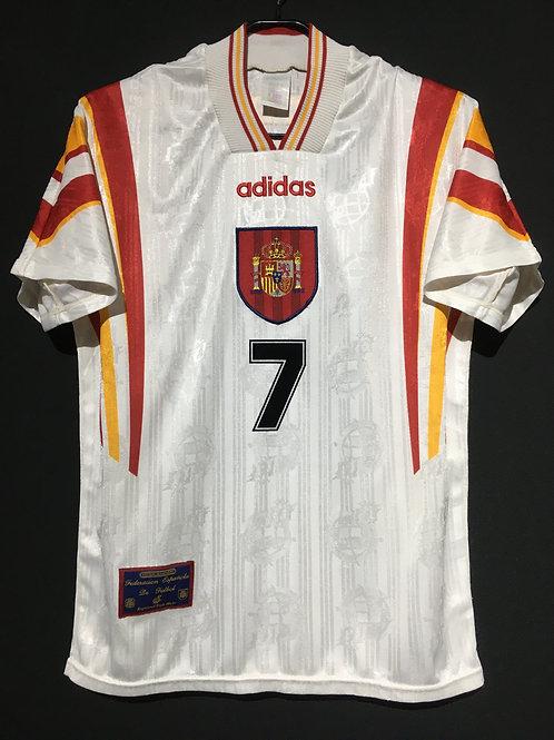 【1996/97】 / Spain / 3rd / No.7 RAUL