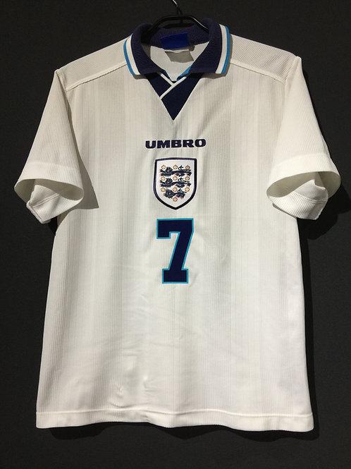 【1995/97】 / England / Home / No.7 BECKHAM