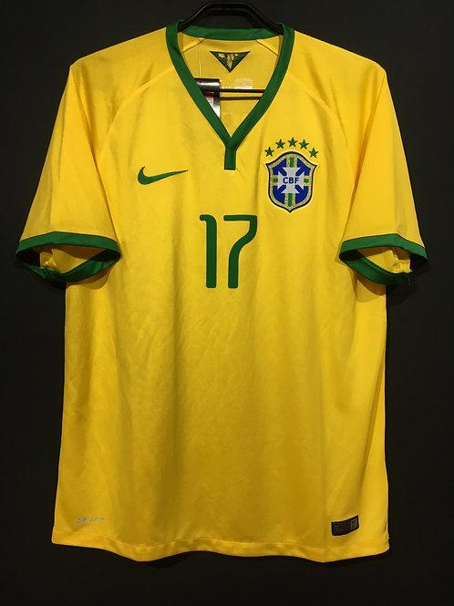 【2014/15】 / Brazil / Home / No.17 L.GUSTAVO