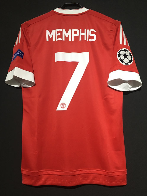 【2015/16】 / Manchester United / Home / No.7 MEMPHIS / UCL / Authentic