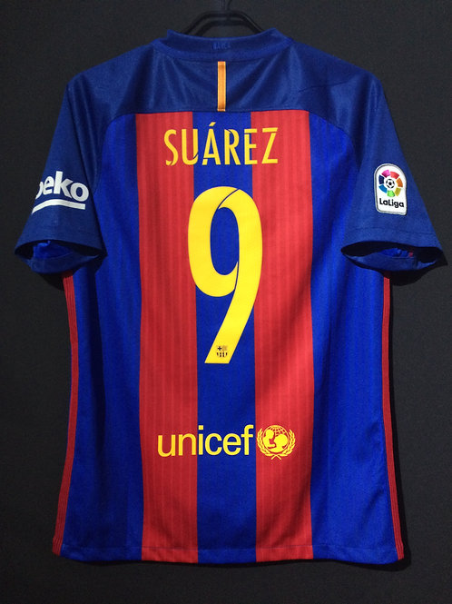 【2016】 / FC Barcelona / Home / No.9 SUAREZ / Phase1