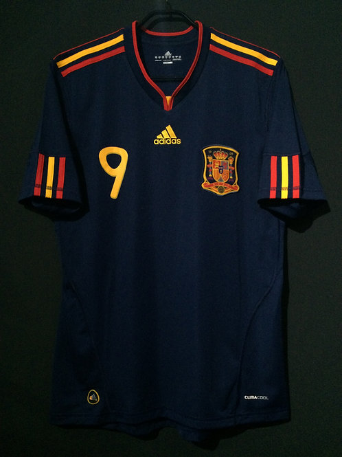 【2010】 / Spain / Away / No.9 TORRES