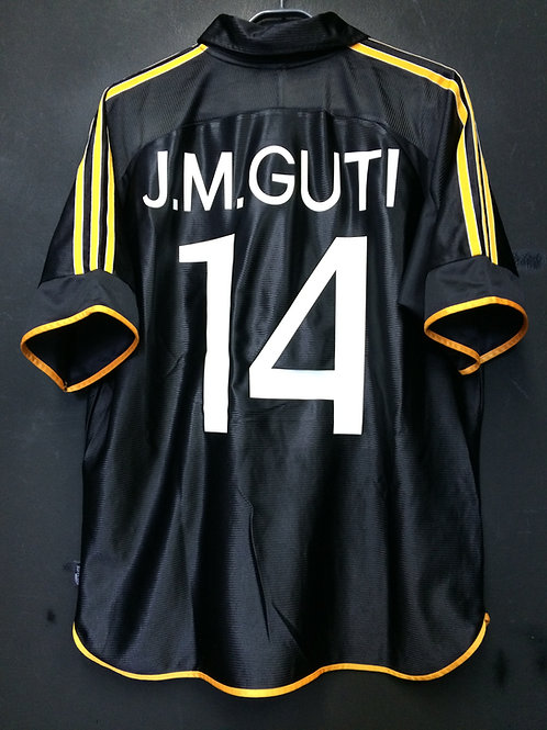 【1999/2000】 / Real Madrid C.F. / 3rd / No.14 J.M.GUTI