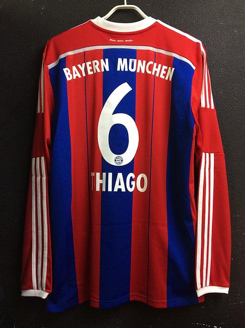 【2014/15】 / FC Bayern Munich / Home / No.6 THIAGO