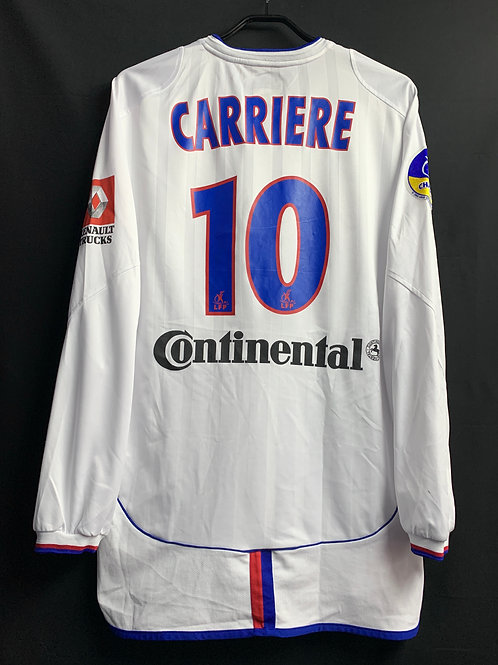 【2002/03】 / Lyon / Home / No.10 CARRIERE / Player Issue