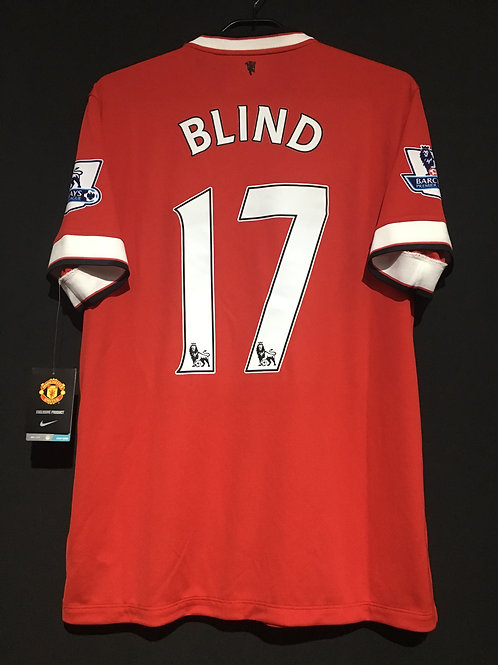 【2014/15】 / Manchester United / Home / No.17 BLIND