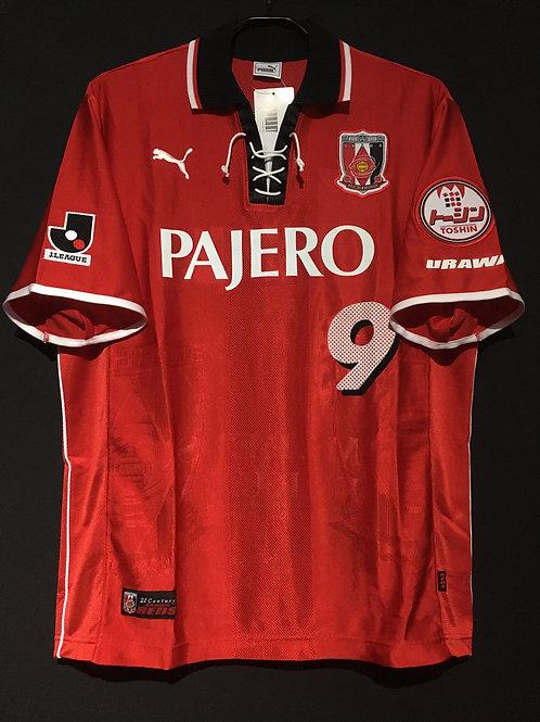 【2002】 / Urawa Red Diamonds / Home / No.9 FUKUDA / Testimonial