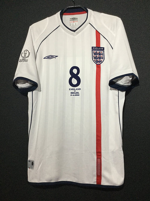 【2002】 / England / Home / No.8 SCHOLES / FIFA World Cup