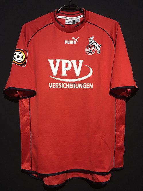 【2001/02】 / 1. FC Köln / Home