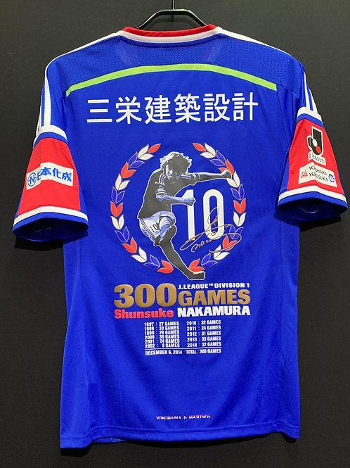 【2014】 / Yokohama F. Marinos / Home / No.10 / SHUNSUKE NAKAMURA 300 Games