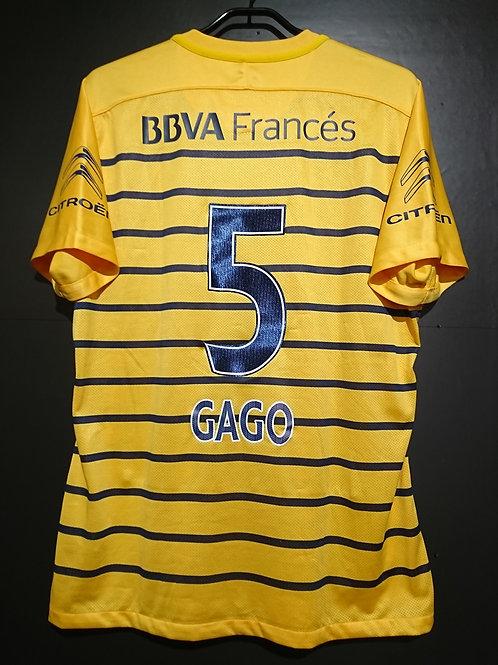 【2015/16】 / Boca Juniors / Away / No.5 GAGO / Authentic