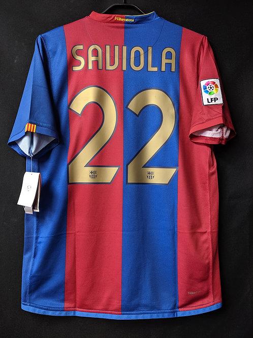 【2006/07】 / FC Barcelona / Home / No.22 SAVIOLA
