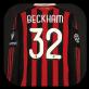 2009 AC Milan Beckham