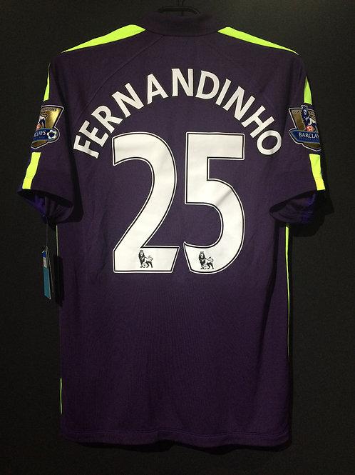 【2014/15】/ Manchester City / 3rd / No.25 FERNANDINHO