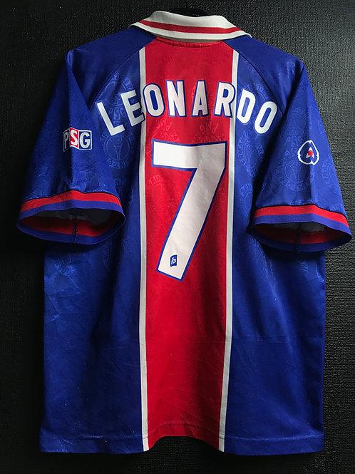 【1996/97】 / Paris Saint-Germain / Home / No.7 LEONARDO